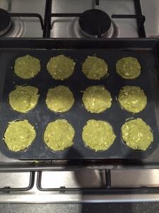 Matcha muffins 2