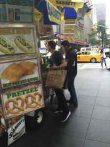 NY hot dog