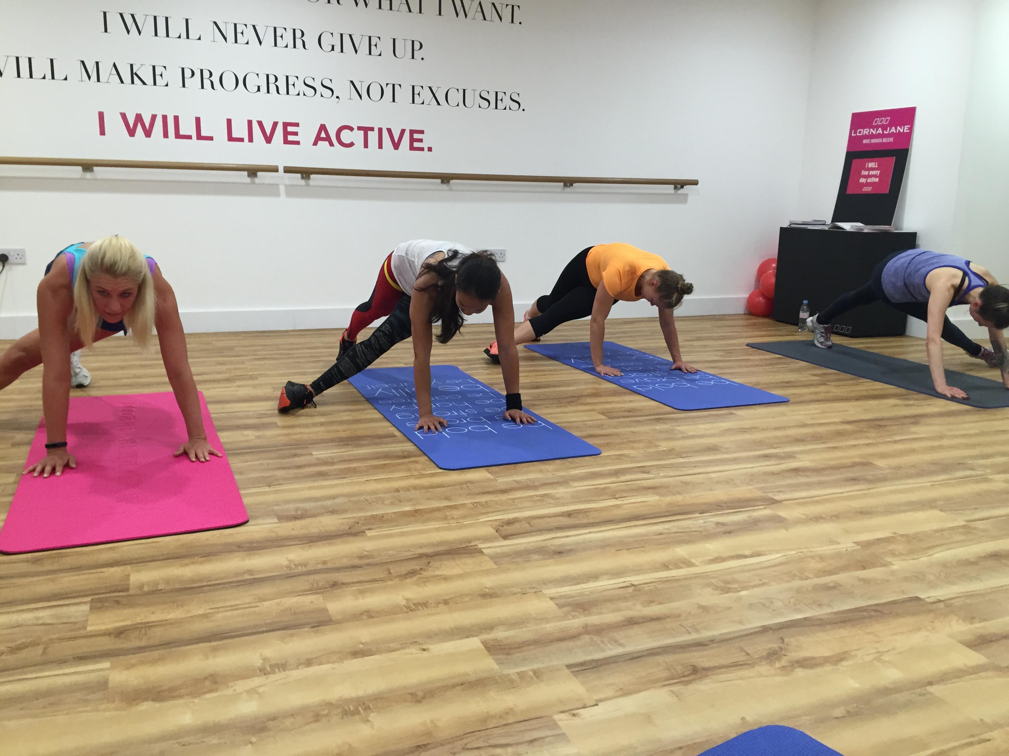 Lorna Jane core workout Covent Garden.jpg